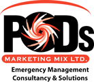 PODS Marketing Mix Ltd Logo